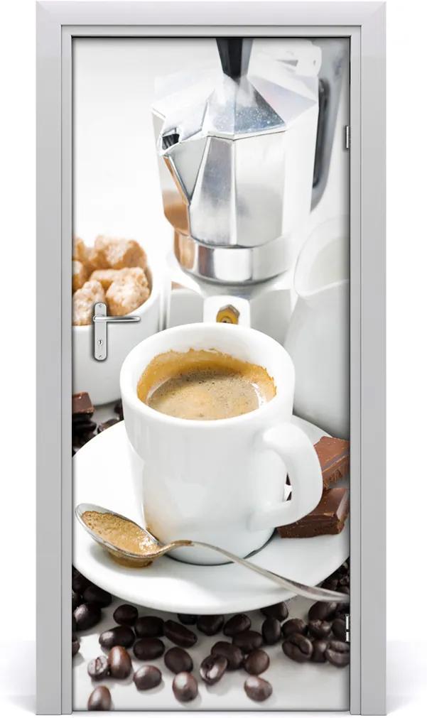 Fototapeta na dveře samolepící Šálek kávy