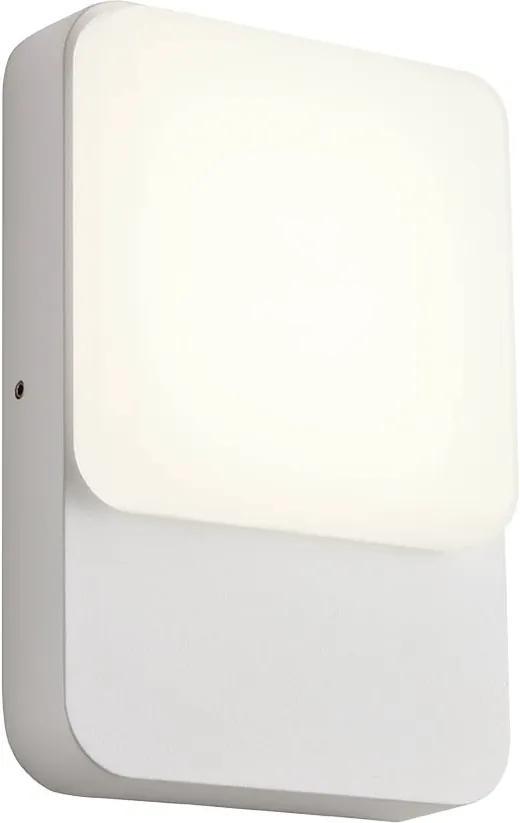 Vonkajšie nástenné svietidlo REDO COLIN biela 90128