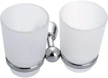 Novaservis Metalia 3 6357,0 dvojitý pohár chróm