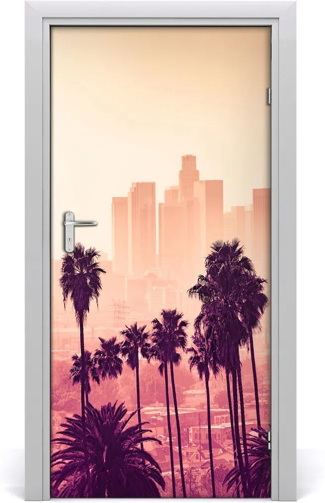 Fototapeta samolepiace dvere  Los Angeles mesto