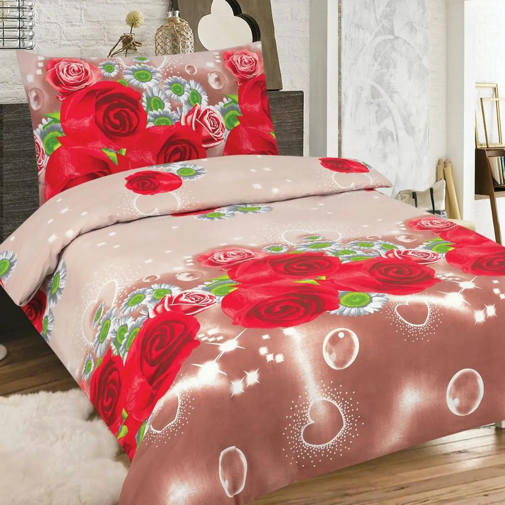 Rebeka Home Textile Bavlnené obliečky Aella (2-dielna sada), 140 x 200 cm