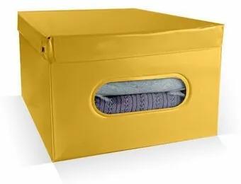 Compactor Úložný box Nordic 50 x 38,5 x 24 cm, žltá