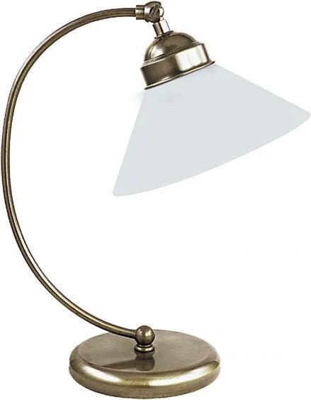 Rábalux 2702 Pracovné Stolné Lampy bronz biely E27 1x MAX 60W 270 x 395 mm