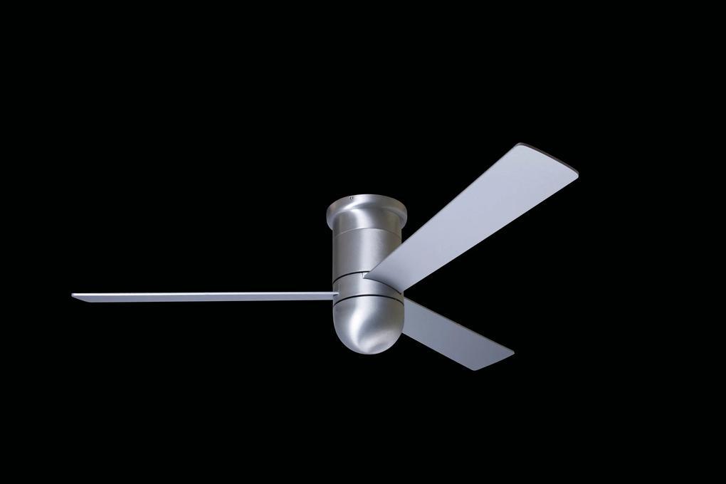 """MODERN FAN EU CIRRUS HUGGER CIRHUG-BA42WH352 42"""" leštený hliník/biela Reverzný stropný ventilátor"""