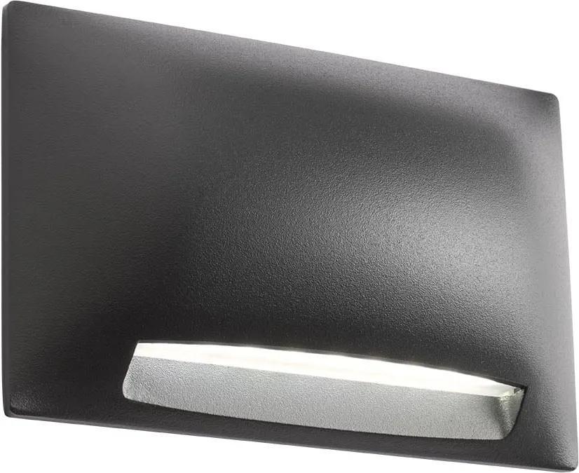 Vonkajšie nástenné svietidlo REDO SLOT 3000K 90123