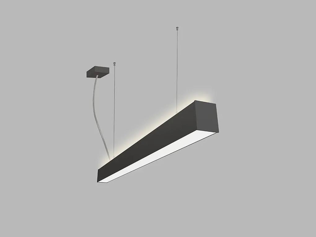 LED2 3310253 LINO 90 P/N-Z stropné závesné svietidlo 12-20W 3000K/3500/4000K čierna