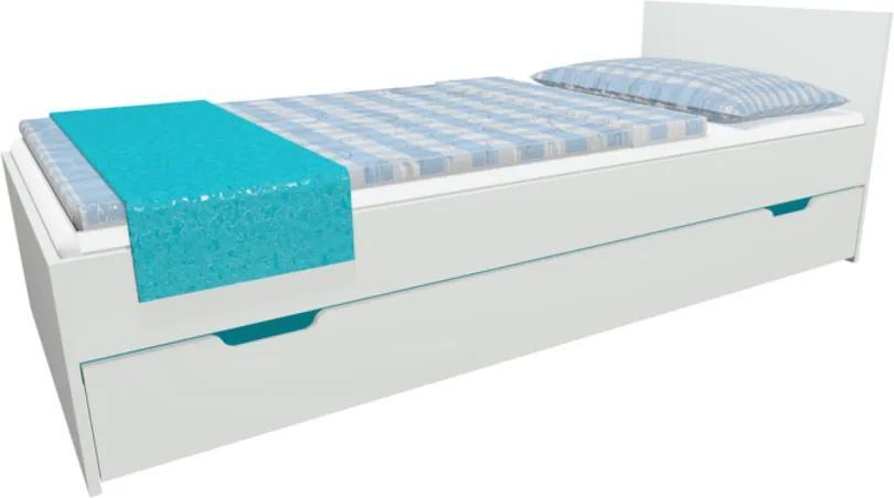 MAXMAX Detská posteľ so zásuvkou - MODERN 200x90 cm