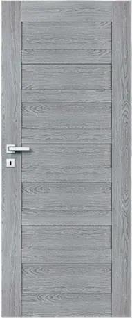 PerfectDoor Komplet PAROS 3  (dvere,zárubňa,kľučka)