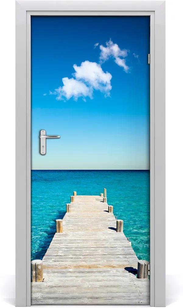 Fototapeta na dveře Dřevěné molo