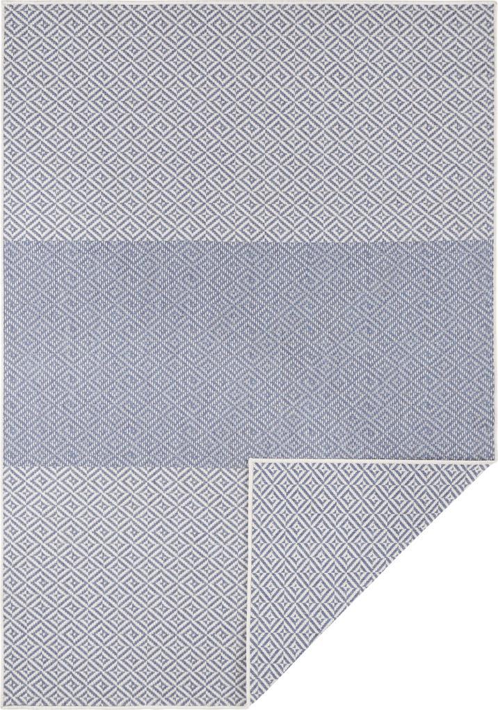 Bougari - Hanse Home koberce Kusový koberec Twin Supreme 103773 Blue/Cream - 80x150 cm