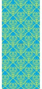 Dverová fototapeta - DV0359 - Klasický vzor na modrom pozadí 91cm x 211cm - Vliesová fototapeta
