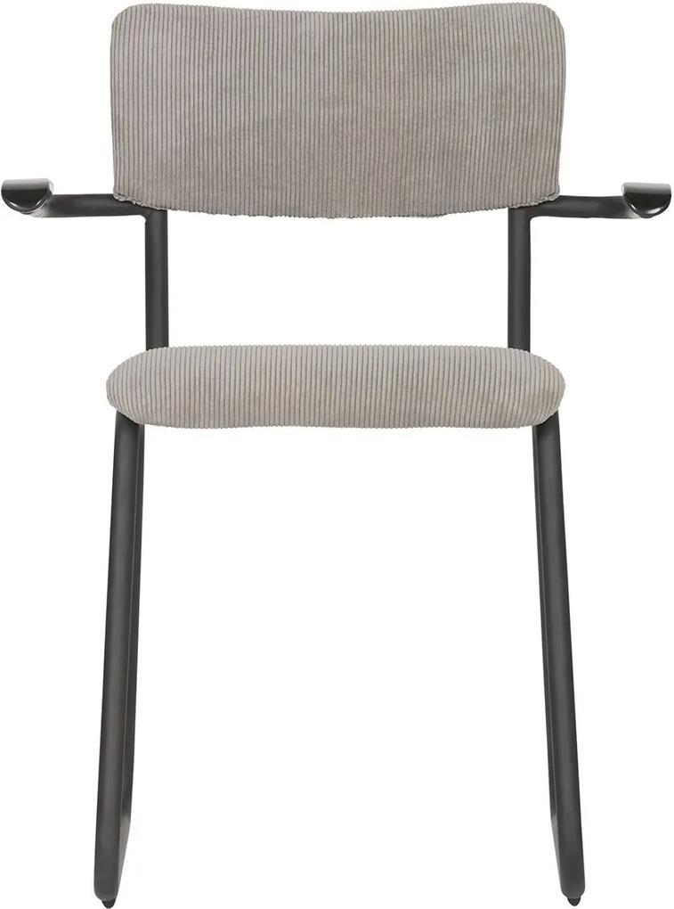 WOOOD Jedálenská stolička s opierkami Ribb