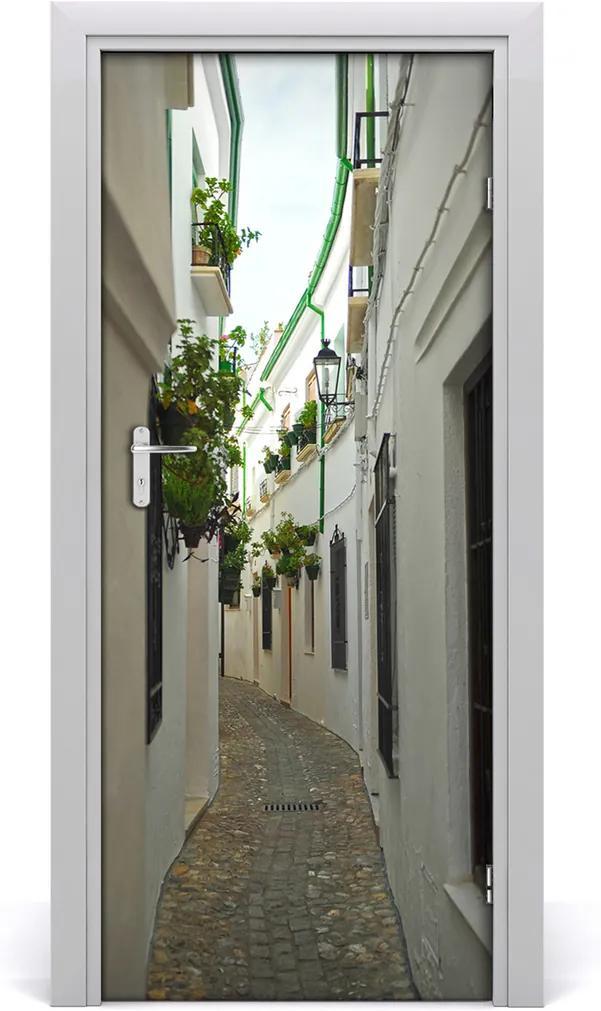 Fototapeta samolepící dveře Andaluzie uličky