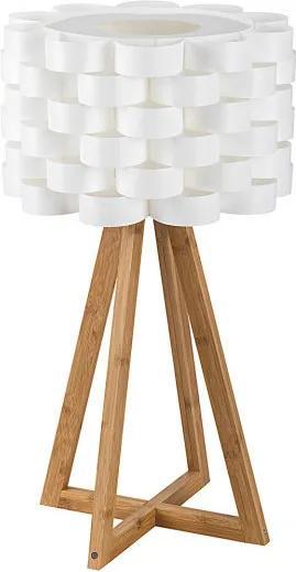 Rábalux Andy 4345 Stolné Lampy biely drevo E14 1X MAX 40W IP20
