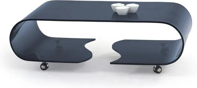 Luxusné konferenčný stôl Palma, grafit