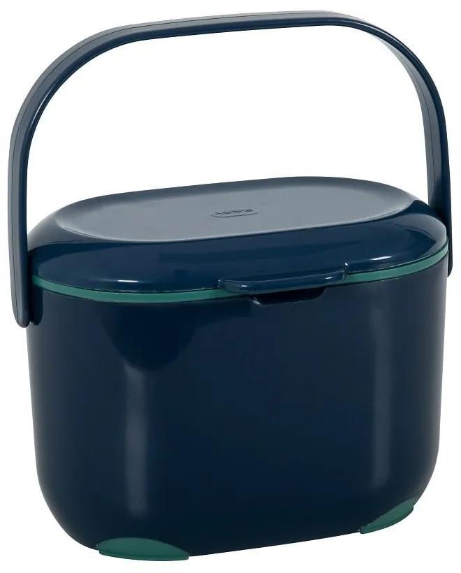 Modro-zelený kompostér Addis Caddy, 2,5 l