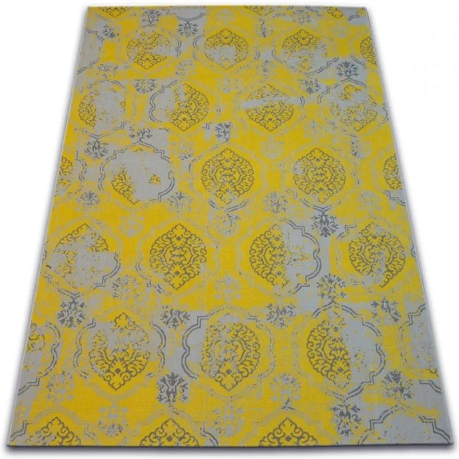Kusový koberec PP Sense žltý, Velikosti 200x290cm