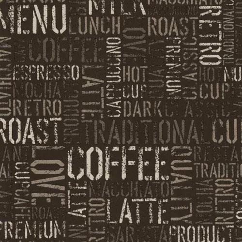Papierové tapety, coffee hnedé, Tribute 551420, P+S International, rozmer 10,05 m x 0,53 m