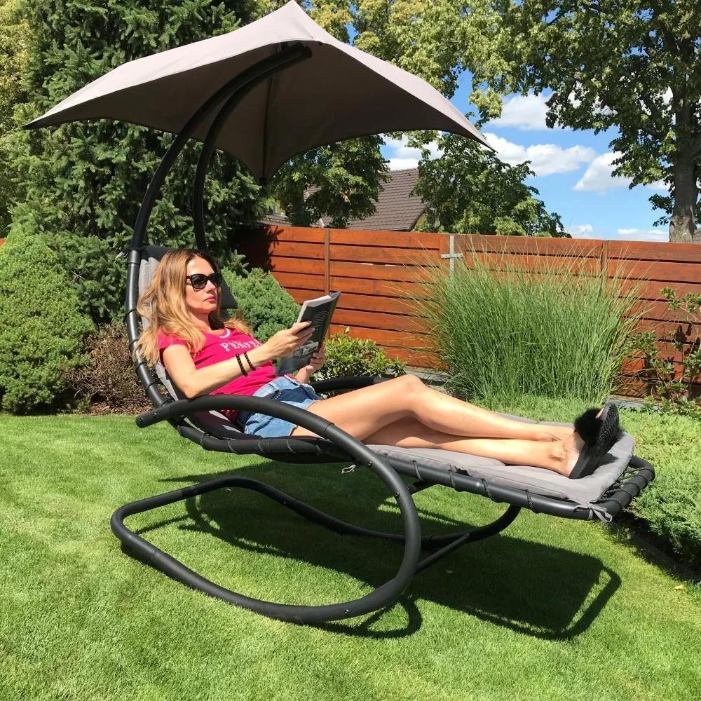 Záhradné relaxačné lehátko AVENBERG ARIEL