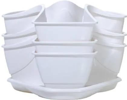 Prosperplast Coubi 29,5 x 29,5 x 38 cm (DKN3003-S449) biely