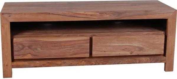 TV stolík Tara 120x50x45 indický masív palisander, Only stain