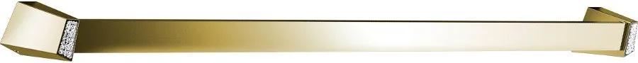 Soul Crystal 165001 držiak uterákov 750mm, zlato