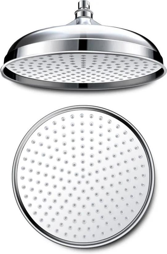 Retro AQ785 hlavová sprcha, priemer 305mm, chróm