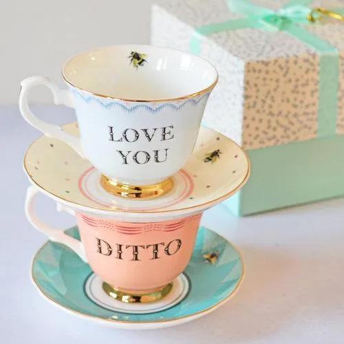 Hrnčeky Love you & Ditto