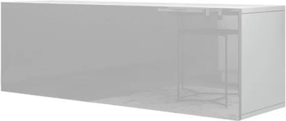 Sconto TV komoda VIVO VI 2 biela vysoký lesk
