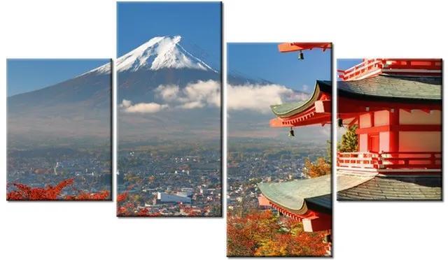 Tlačený obraz Sopka Fudži 120x70cm 1198A_4Z