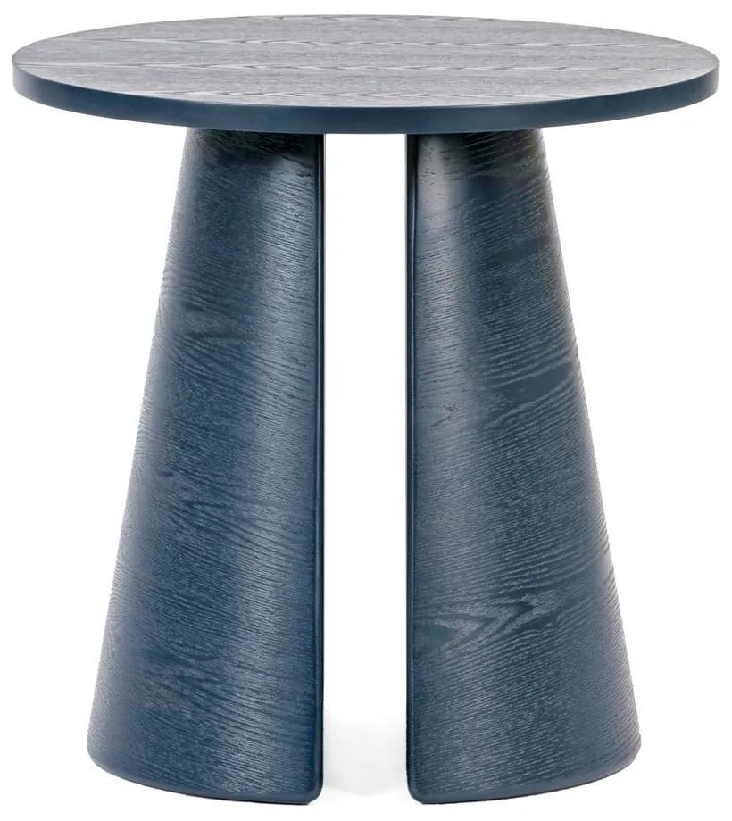 Modrý odkladací stolík Teulat Cep, ø 50 cm