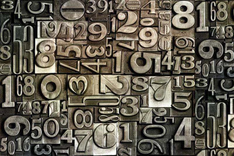 Dimex fototapeta Číslica XL-548 | 330 x 220 cm