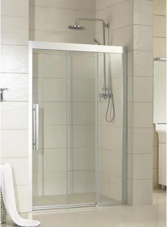 HOPA - Sprchové dveře MARTOS - 100 cm, 195 cm, Pravé (DX), Leštěný hliník, Čiré bezpečnostní sklo - 8 mm (BCMAR10CCP)