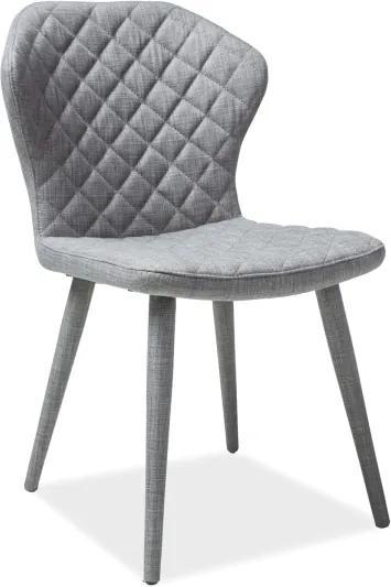 Najlacnejsinabytok LOGAN jedálenská stolička, šedá »