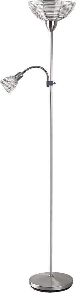 Rabalux Rabalux 4183 - Stojacia lampa EZRA E27/G45/60W + E14/40W RL4183