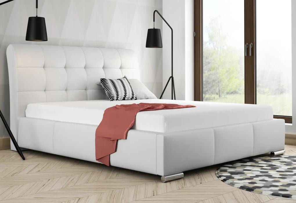 Čalúnená posteľ BERAM, 120x200, madryt 190