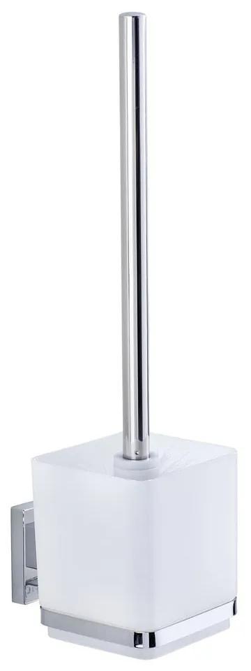 Držiak na toaletnú kefu bez nutnosti vŕtania Wenko Vacuum-Loc, až 33g