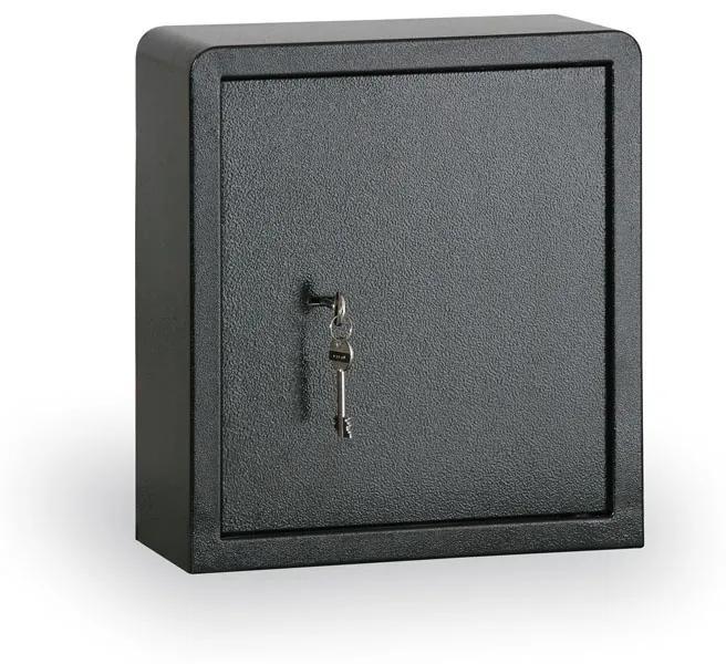 Sejf na kľúče s mechanickým zámkom, 76 kľúčov