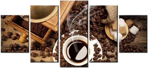 Tlačený obraz Chutná aromatická káva 150x70cm 1182A_5B