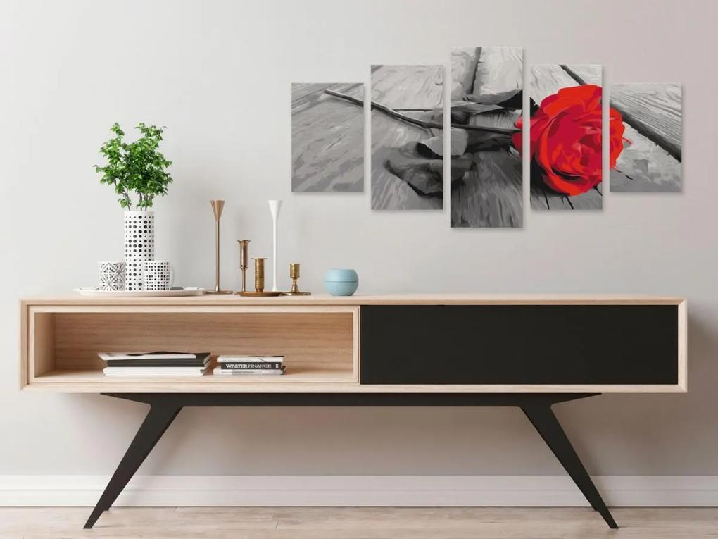 Murando DeLuxe Malování podle čísel (100x50 cm)
