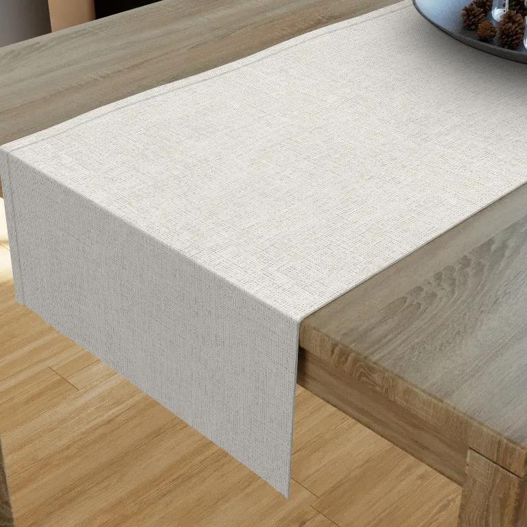 Goldea dekoračný behúň na stôl verona - režný 20x120 cm