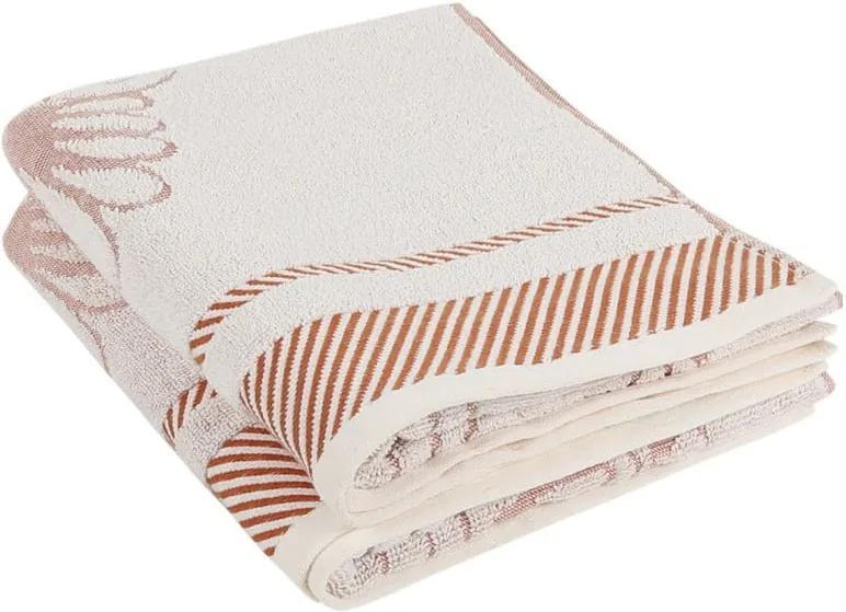 Sada 2 bavlnených uterákov Durga, 50 × 100 cm