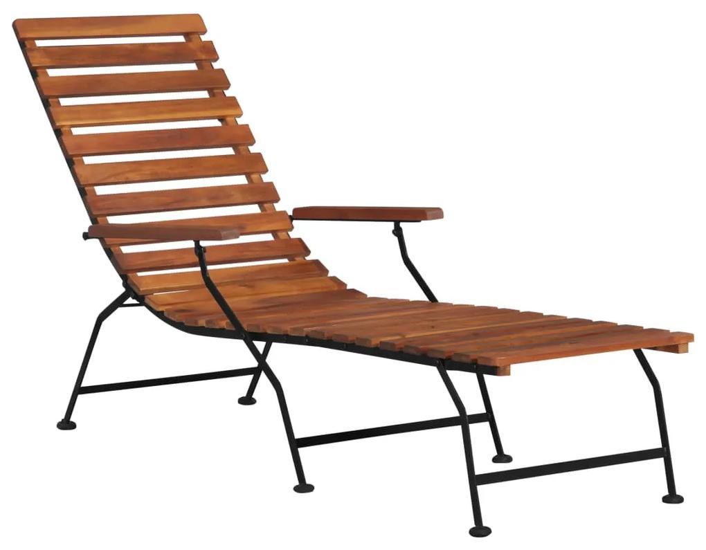 vidaXL Vonkajšie kreslo na terasu z akáciového dreva