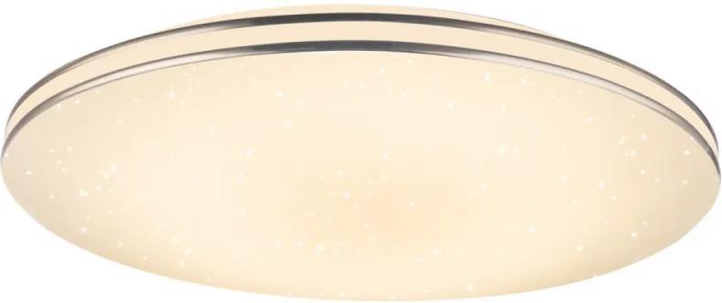 Globo 48388-48 Stropné Svietidlá chróm biely LED - 1 x 48W 8 x 53 x 53 cm