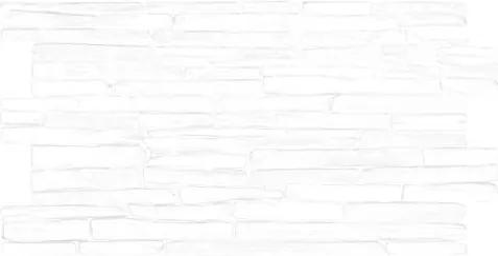 Obkladové 3D PVC panely TP10015929, rozmer 980 x 500 mm, kameň biely, GRACE