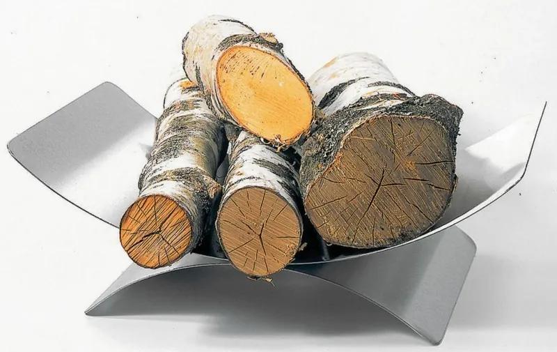 Kôš na drevo Lienbacher so soklom - antracit