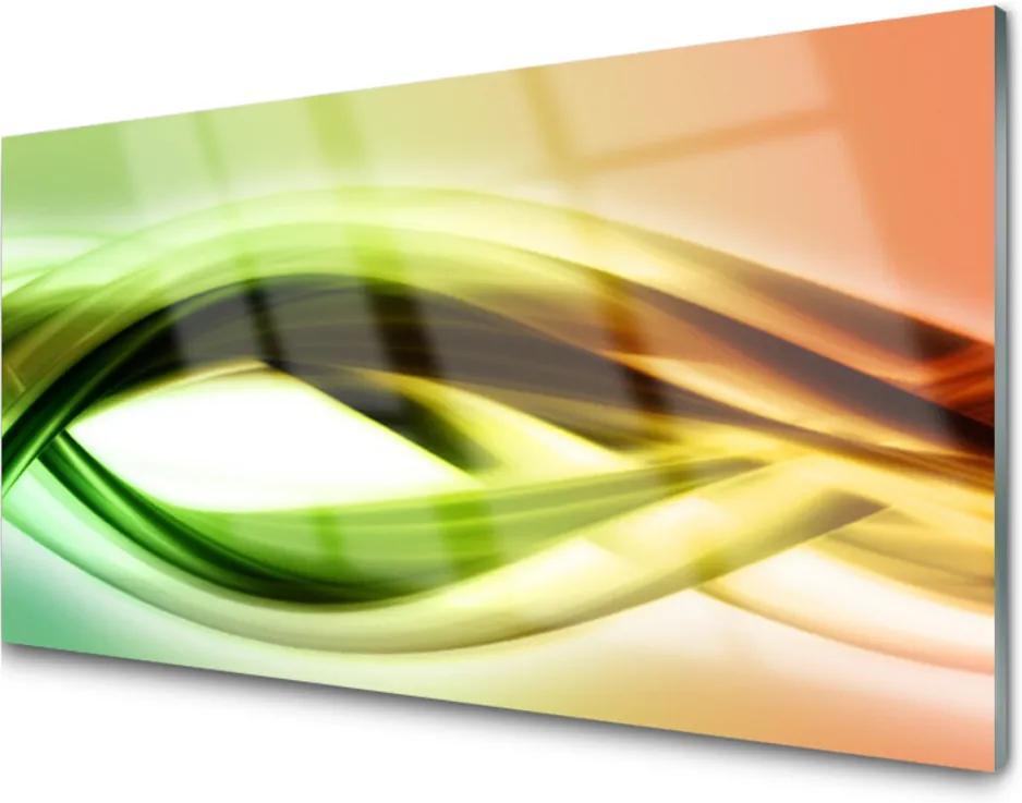 Obraz na skle Sklenený Abstrakcia Umenie