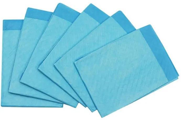 ISO Prebaľovacie podložky 60 x 45cm 50 ks, modré, 6679