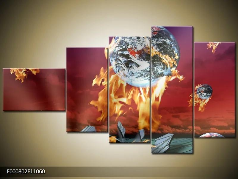 Moderné obrazy päťdielne