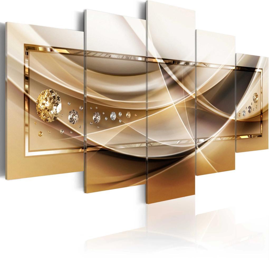 Obraz - Golden Frame 100x50